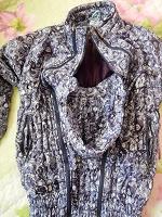 Отдается в дар Куртка-слинг для беременных (зима)