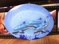 Отдается в дар Панно детское «Дельфины»