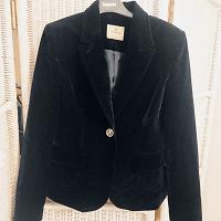 Отдается в дар бархатный пиджак XS