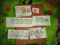 Отдается в дар Почтовые марки. Россия