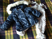 Отдается в дар куртка + комбез