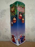 Отдается в дар Коробка для сладкого подарка на Новый год