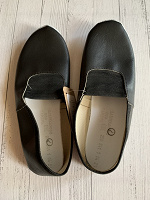 Отдается в дар Чешки черные 38-38,5 размер