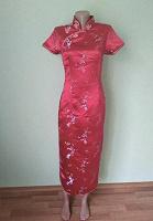 Отдается в дар Платье в китайском стиле / цветы сакуры