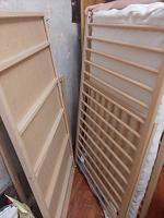Отдается в дар Детская кроватка деревянная икея 120×80×65