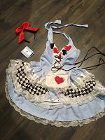 Отдается в дар Карнавальный костюм Алиса из страны чудес