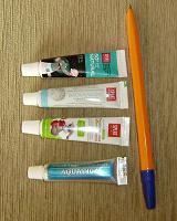 Отдается в дар Пробники зубной пасты