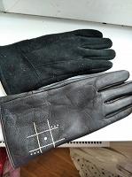 Отдается в дар Кожаные и замшевые перчатки