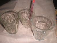 Отдается в дар 3 небольших стакана
