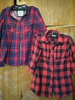 Отдается в дар Рубашки для девочки