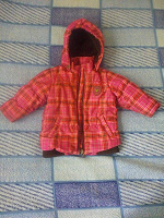Отдается в дар Курточка на девочку, 74 размер, демо