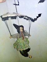 Баба-Яга на парашюте