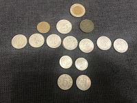 Отдается в дар Монеты Египет, Югославия, Чехословакия