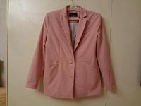 Отдается в дар розовый пиджак 48 р-ра