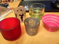 Отдается в дар Подсвечники для чайных свечей
