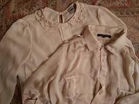 Отдается в дар две блузки и пиджак, р.40