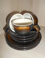 Отдается в дар Сервиз чайно-кофейный.