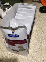 Отдается в дар Лечебный корм для кошек gastrointestinal паучи