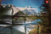 Отдается в дар Большой постер Альпы