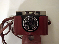 Отдается в дар Пленочный фотоаппарат Смена 6