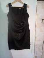 Отдается в дар маленькое черное платье 46р