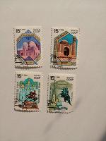 Отдается в дар 4 марки СССР — 2 марки памятники, 2 марки архитектуры