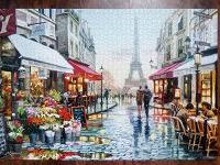 Отдается в дар Пазл Париж на 1500 элементов