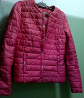 Отдается в дар Куртка розовая подростковая
