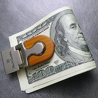 Отдается в дар Зажим для денег