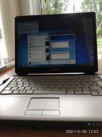 Отдается в дар Ноутбук Toshiba
