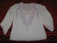 Отдается в дар Жатая блузка 44