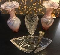 Отдается в дар Набор ваз и конфетница