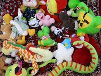 Отдается в дар Пакет небольших мягких игрушек