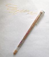 Отдается в дар Ручка с золотистыми чернилами