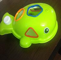 Отдается в дар Детский сортер кит.