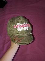 Отдается в дар Теплая шапочка-кепочка