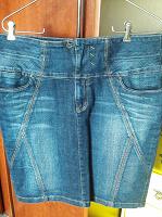 Отдается в дар юбка джинсовая 50(52)