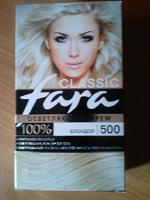 Отдается в дар Fara Classic, блондор, 500
