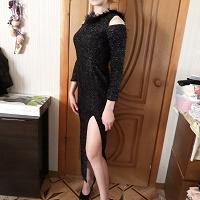 Отдается в дар вечернее платье 44 р-р