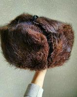 Отдается в дар Мужская меховая шапка-ушанка