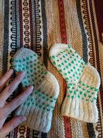 Отдается в дар Детские шерстяные носочки