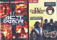 Отдается в дар Компьютерные игры на DVD