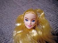 Отдается в дар Голова куклы типа Барби