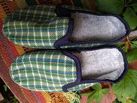 Отдается в дар Тапочки домашние новые, 35 размер