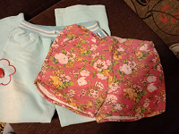 Отдается в дар Для девочки: штаны и шорты