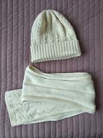 Отдается в дар Теплые шапка и шарф на зиму