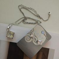 Отдается в дар Комплект: серьги и цепочка с кулоном Lady Collection