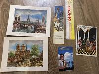 Отдается в дар Коллекционерам: календарик, закладки, открытка и картинки