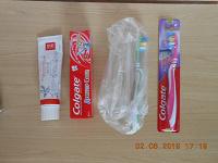 Отдается в дар Зубная паста, щётки