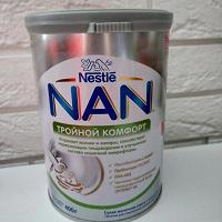 Отдается в дар Смесь NAN тройной комфорт 400г с 0мес.